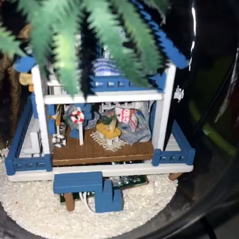"""上学期做的小房子 有点落灰了 但是丝毫不影响其内"""""""