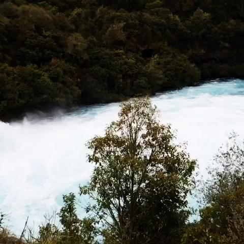 """Huka Waterfall - Claudialulu的美拍"""""""