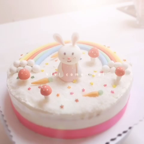 小白兔蛋糕