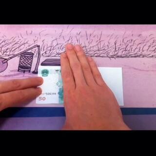 #创意#手指印钞机