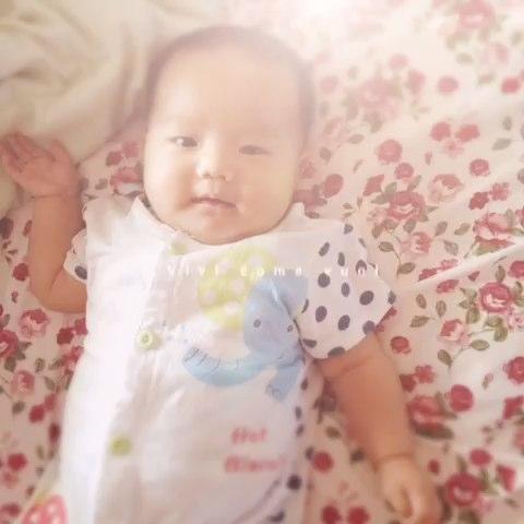 笑的多可爱 小家伙 - 日文名吉良惠子的美拍