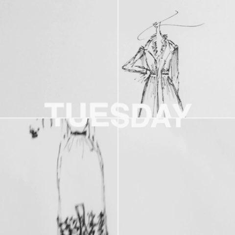 画##绘画##手绘服装设计##服装设计##时尚##宅在家
