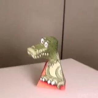#恐龙来了#牛人制作错觉霸王龙#元旦快乐#