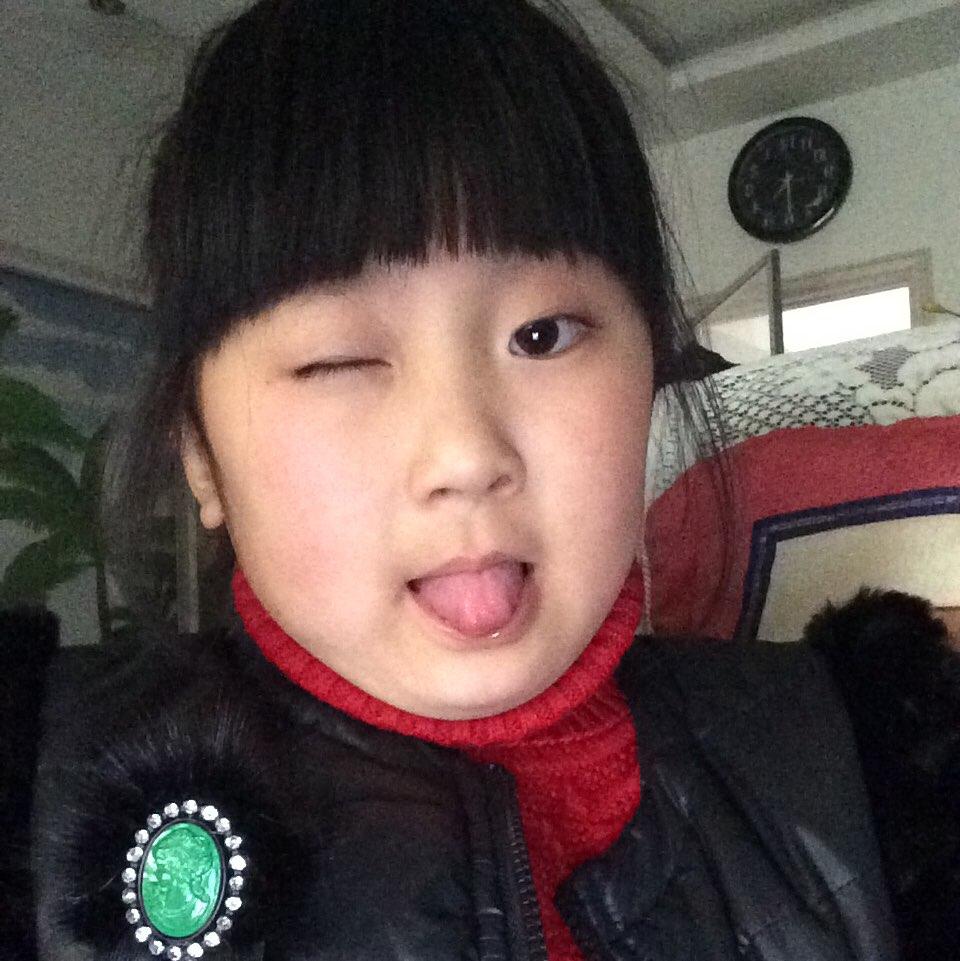 陈郝脸型的头型刘海正面