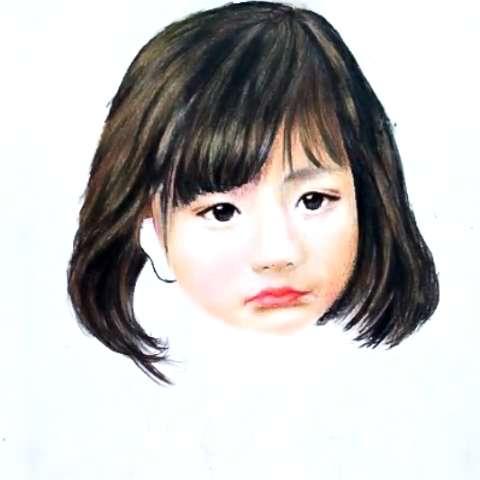 彩铅画##宝宝##手绘彩铅画##素描写实##创意手绘