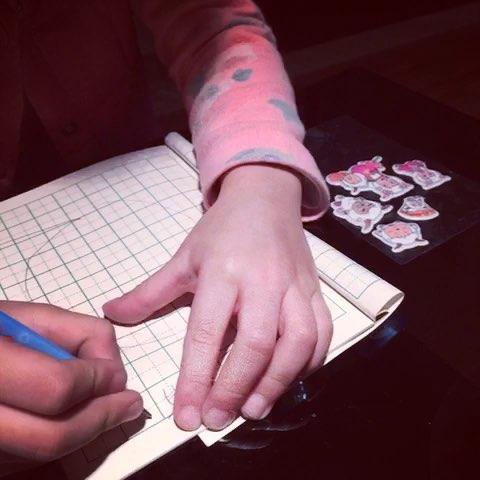 幼儿初学汉子笔画