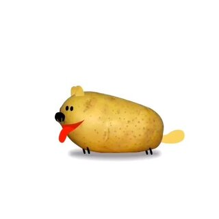 我有一只土豆狗