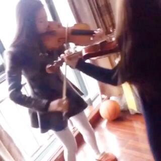 美女小提琴决斗