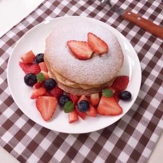😍 草莓松饼