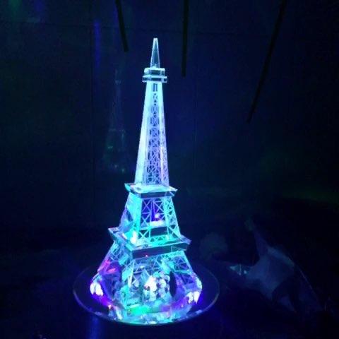 巴黎的埃菲尔铁塔,这份生日礼物很感动