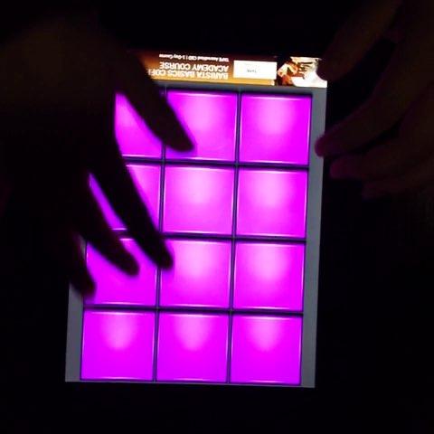 drum pads 24谱子紫色