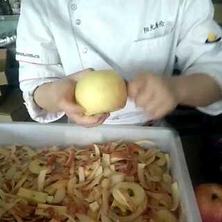 这削苹果没sei了!
