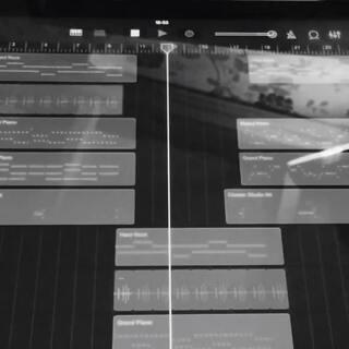 #音乐##原创#今天在路上用ipad做了一首小东西。希望喜欢😄🙏