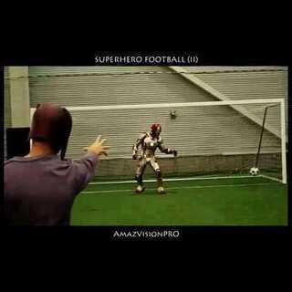 【Superhero football -II 】#眼见不为实# @美拍小助手