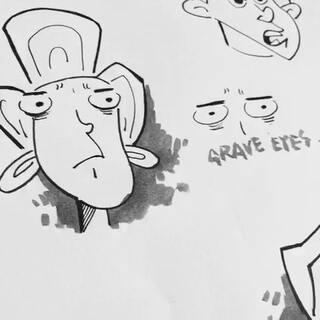 教你画美式漫画眼睛