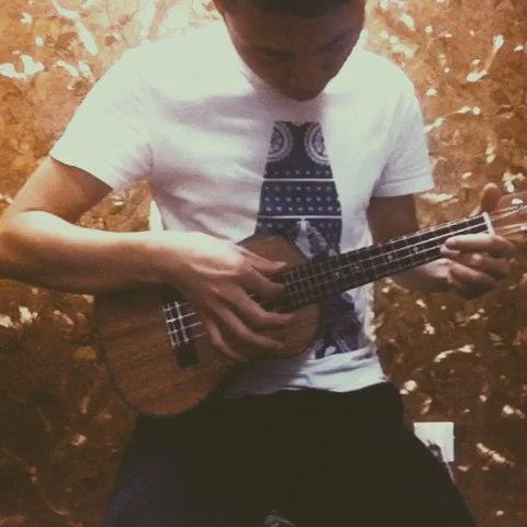 夜空中最亮的星#尤克里里弹唱##ukulele初学者