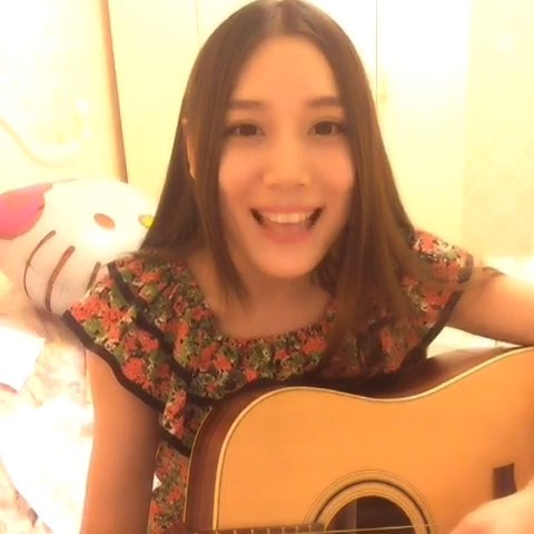 """#你好,五月##随手拍##音乐##吉他弹唱#《你被写在我"""""""