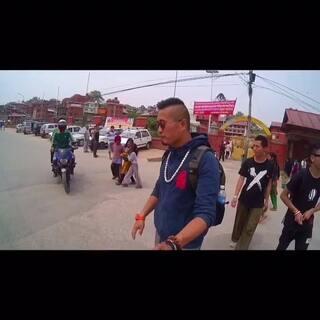 #跑酷环球旅行#第二站,#尼泊尔#的花絮。可惜时间不能倒放,一切不能重来!