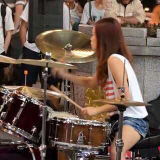 #美拍才女集中营##音樂##爵士鼓# 陳曼青 - 有沒有 drum cover #我要上熱門#