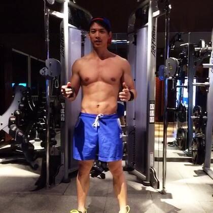 #520##ifitstar星健身#明星教練馬克教你胸肌中縫怎麼鍛鍊,轉起來吧😍😍😍