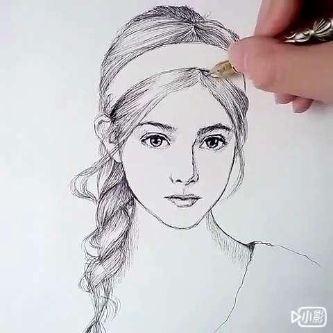 速写钢笔单色自命题插画设计图
