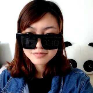 #眉毛戴眼镜#试了好多次。
