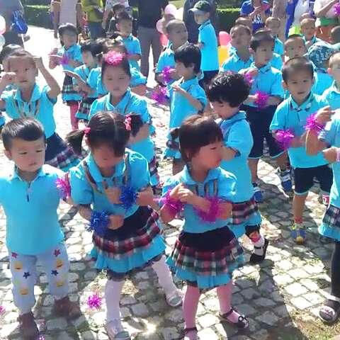 龙才幼儿园小朋友六一儿童节演出