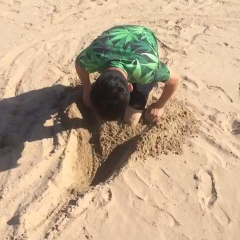 挖坑陷阱制作图解