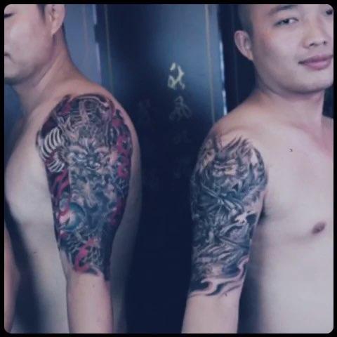 好兄弟就要一起去纹身#纹身##武汉纹身