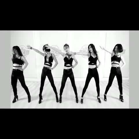 #舞蹈##龙舞天团爵士舞##4minute crazy#完整