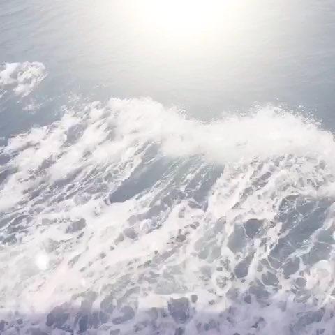 彩铅手绘大海