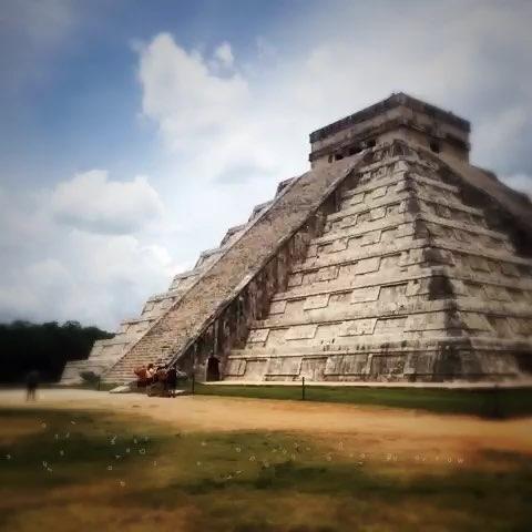 奇琴伊察##墨西哥##玛雅#玛雅人的金字塔