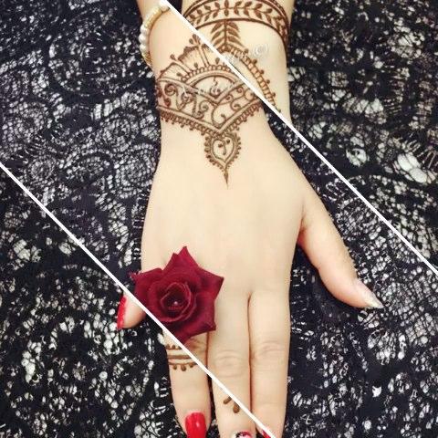 成都xtattoo印度海娜手绘##汉娜手绘##henna##mehandi