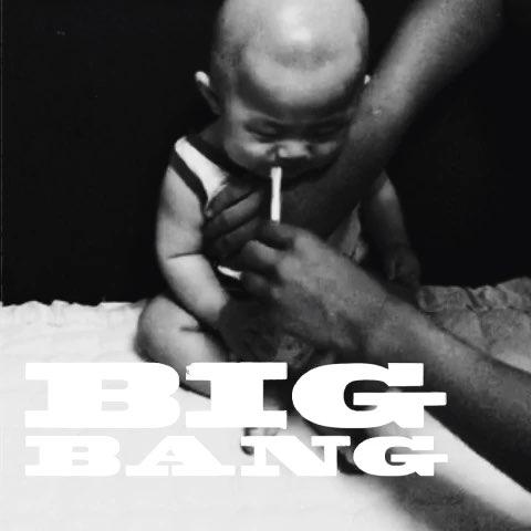 宝爸爸给宝宝叼烟,看大宝表情,哈哈图片