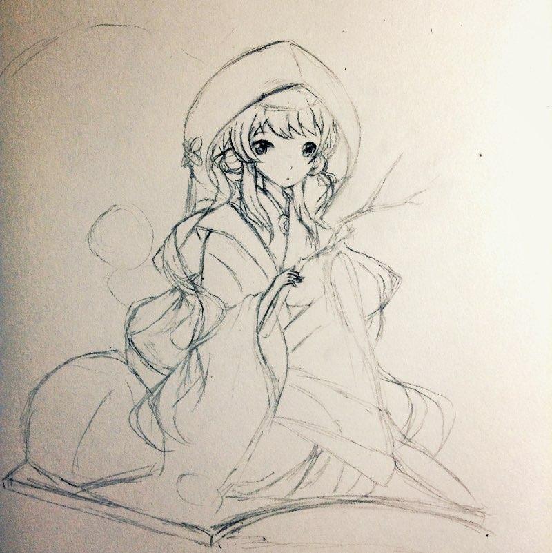素描手绘angelababy