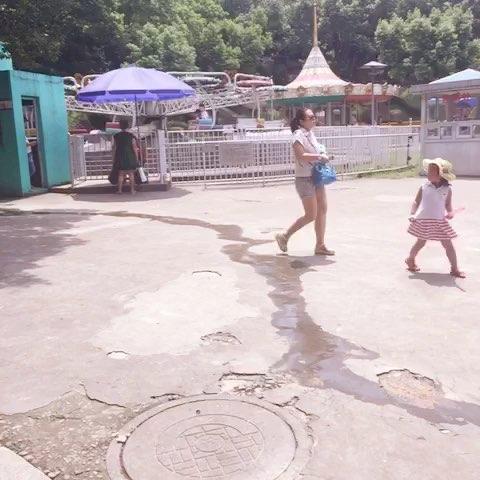 带小朋友去动物园玩#随手美拍