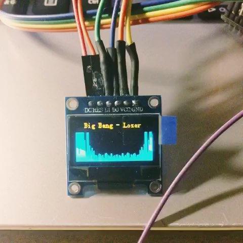 自制音乐频谱显示器