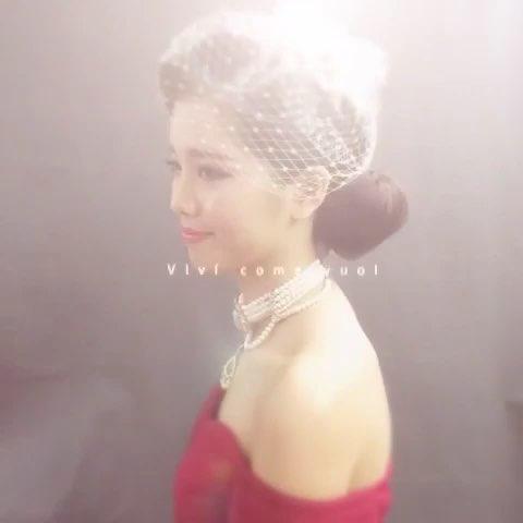 时尚新娘造型##复古欧式##晚宴造型##化妆师—laivy