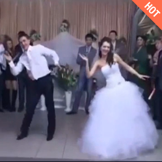 婚礼上热舞<span class=