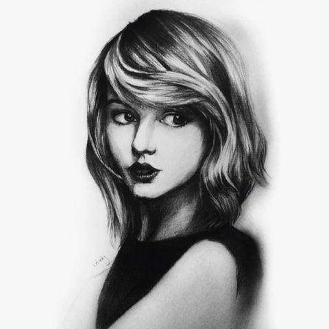 斯威夫特##泰勒女神##泰勒##女神##晒女神##画画##手绘画##霸气##你好