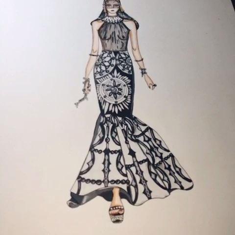 服装设计##服装设计手绘##手绘##创意