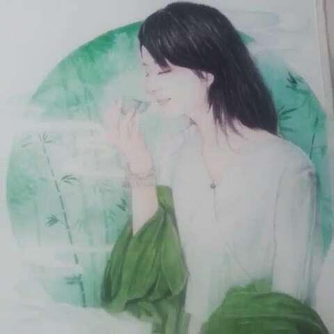 水彩##手绘水彩画#画完了,祝自己生日快乐