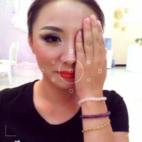 蚊子老师示范欧式妆面图片