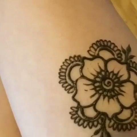 x-tattoo印度海娜手绘