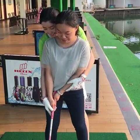 高拍高尔夫挥杆慢动作