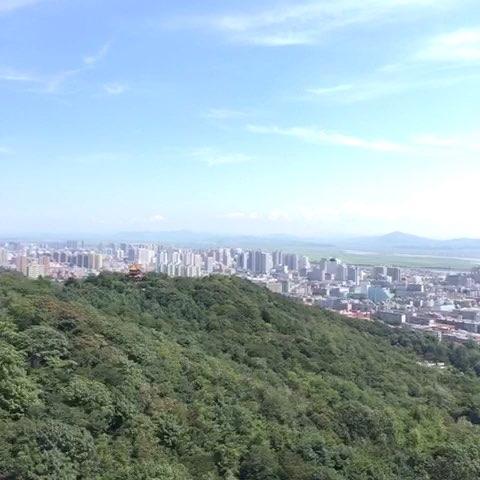 丹东市全景!