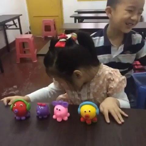 军区幼儿园 - 泥娃娃软陶的美拍