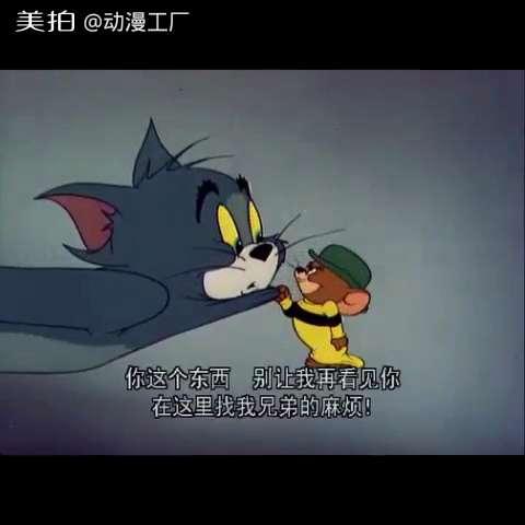 猫和老鼠-杰瑞的远房亲戚02#猫和老鼠##我要上热门##搞笑##动画片图片