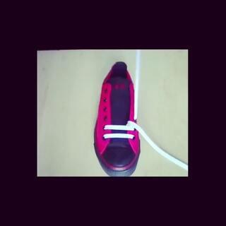 小清新鞋带系法