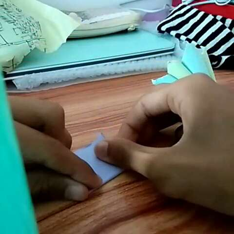 指甲套#折纸##折纸教程##创意手工折纸# - 悠悠似锦的